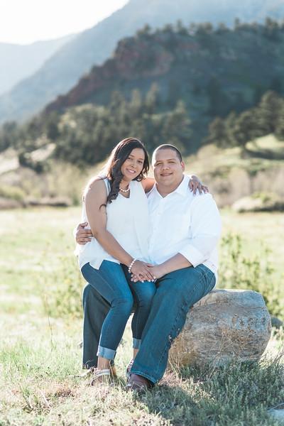 Asha & Drew | Mountain Engagement Session