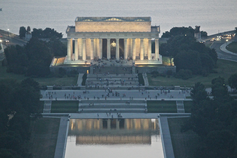 Washington Monument Sunset  614