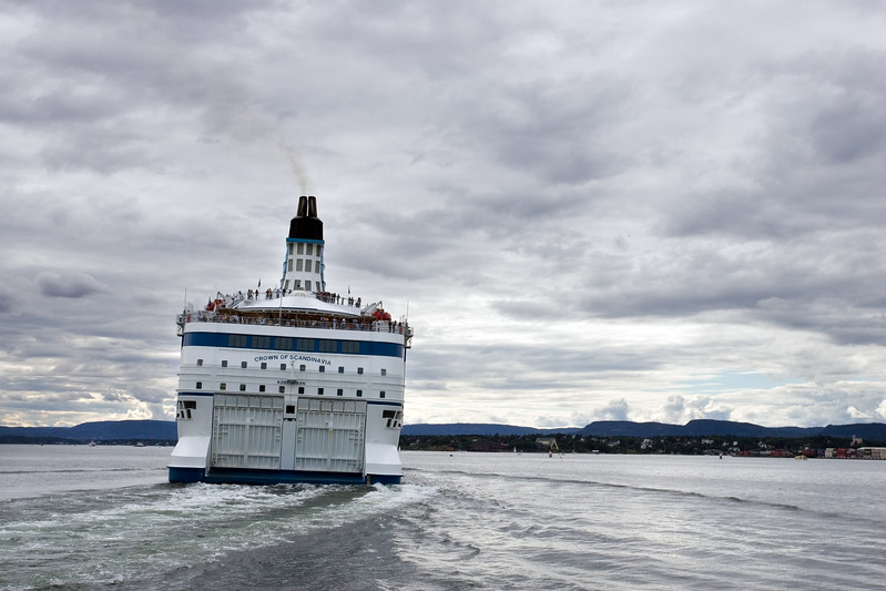 Sea transport is very important in Oslo, Norway.
