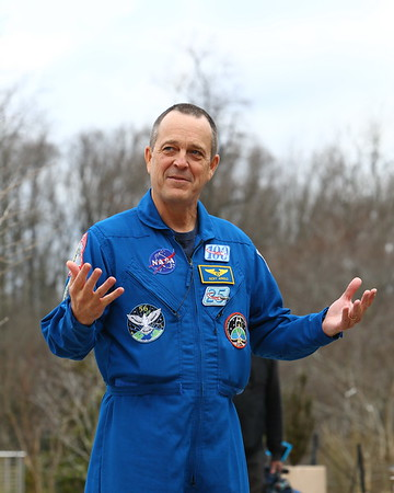 20190322 Astronaut Ricky Arnold at Brookside Gardens for World Water Day