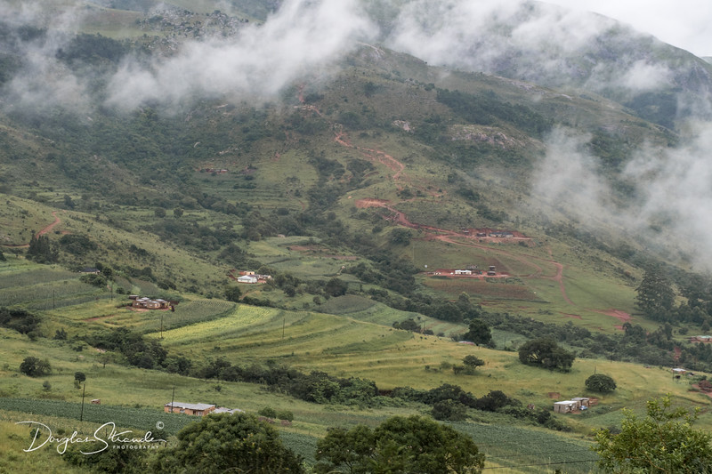 Rural Swaziland Valley