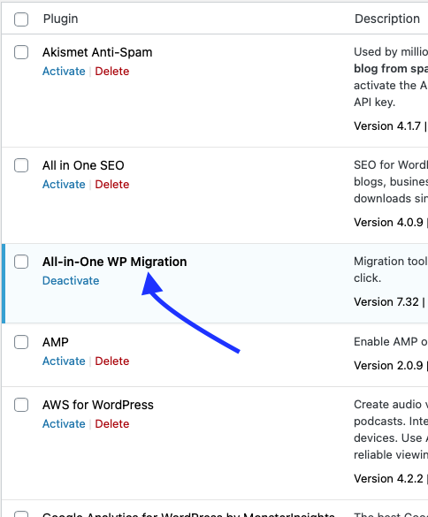 Updating All For One Migration Tool