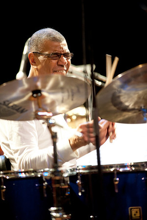 JACK  DEJOHNETTE  with The Humber Studio Jazz Ensemble - March 20, 1013