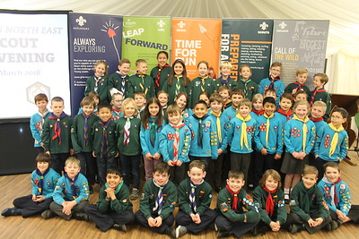Chief Scout Awards  (March 2018)