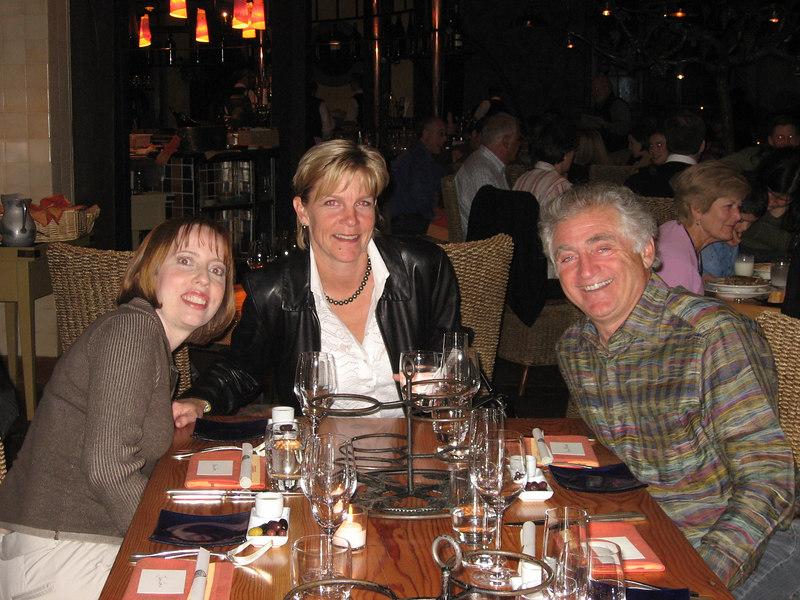 Clari, Darcy and Ed
