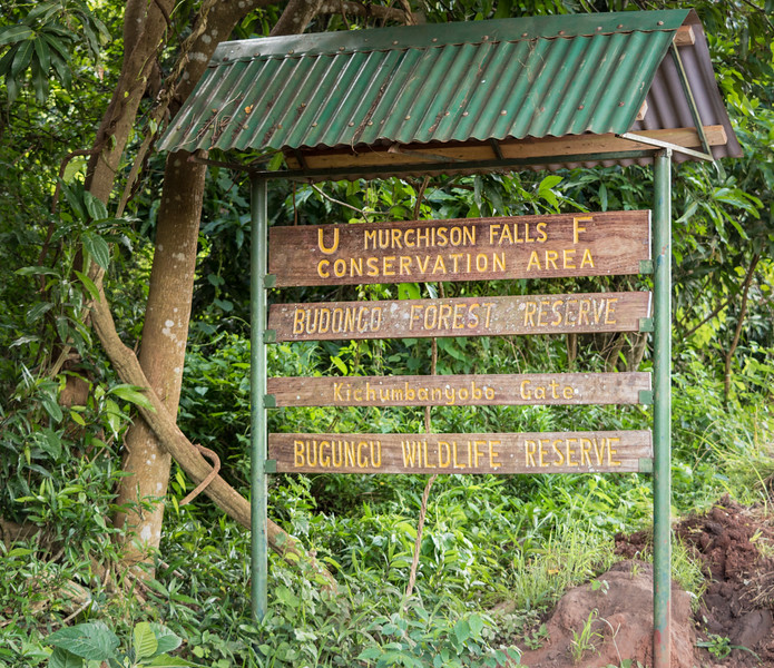 Murchison Falls Sign
