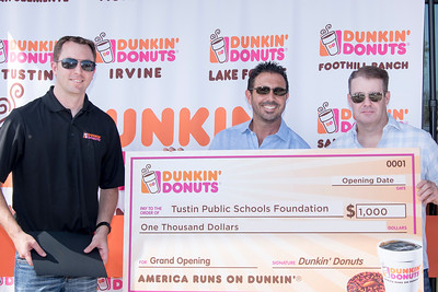 Dunkin Donuts Grand Opening