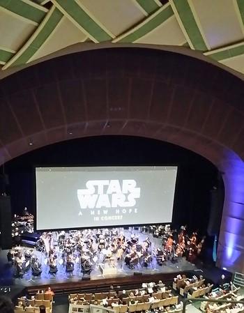 Eugene Symphony Star Wars ANH Concert 2018