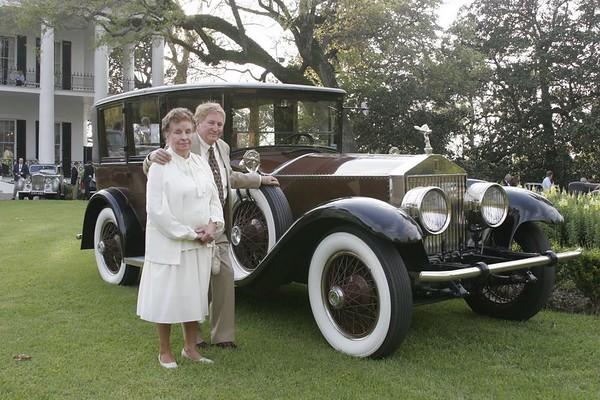 Randall & Alean Andrae<p>1925 Silver Ghost