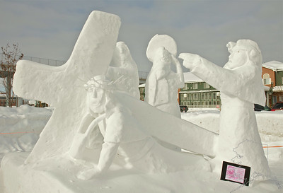 Anchorage Snow Sculptures 2012