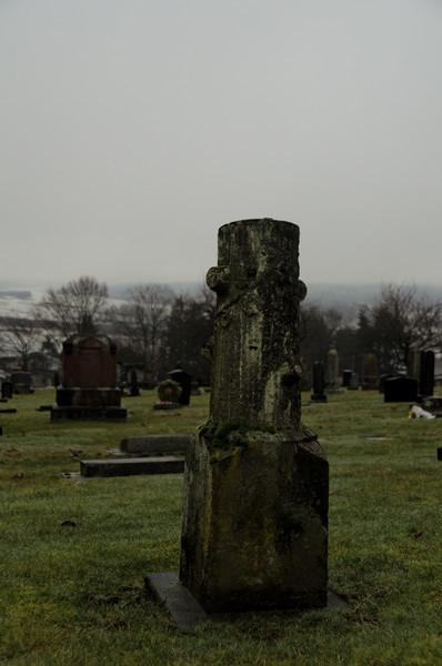 A very unusual gravestone.