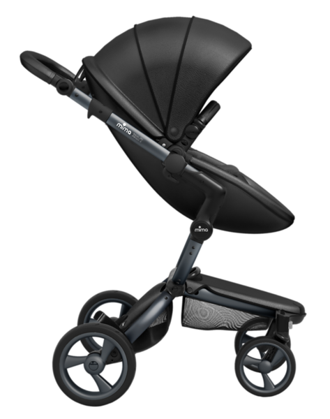 Mima_Xari_Product_Shot_Black_Flair_Graphite_Chassis_Side_View_Seat_Pod.png