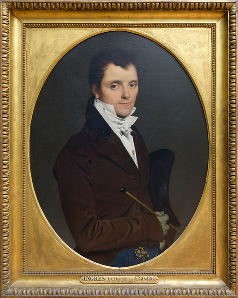 Jean-Auguste-Dominique Ingres, Portrait d'Edme Bochet, 1811