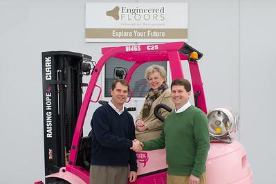 Engineered Floors Pink Forklift