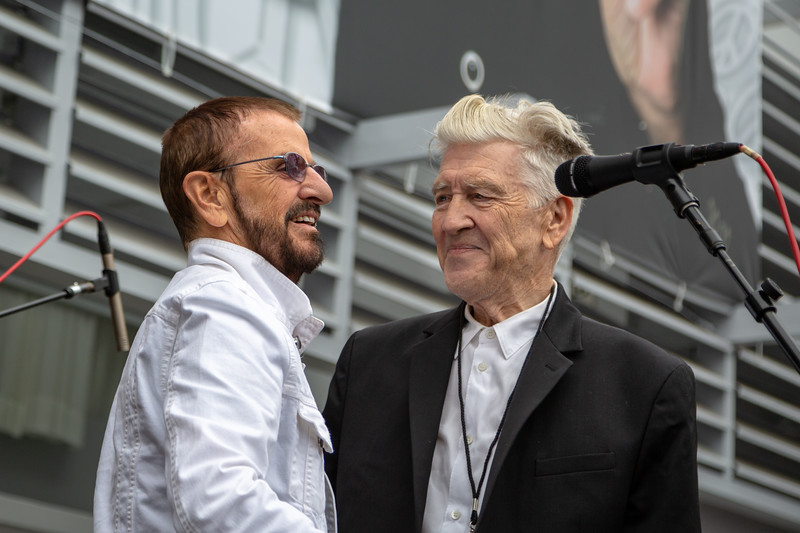 2019_07_07, Birthday, CA, Capitol Records, Los Angeles, Ringo, Ringo Starr, David Lynch