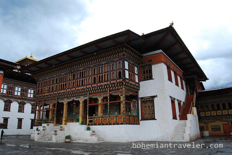 Tashichho Dzong in Thimphu Bhutan (11).jpg