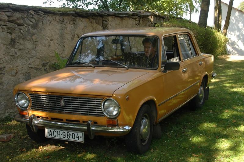Dan Drives a Lada - Bohemia, Czech Republic