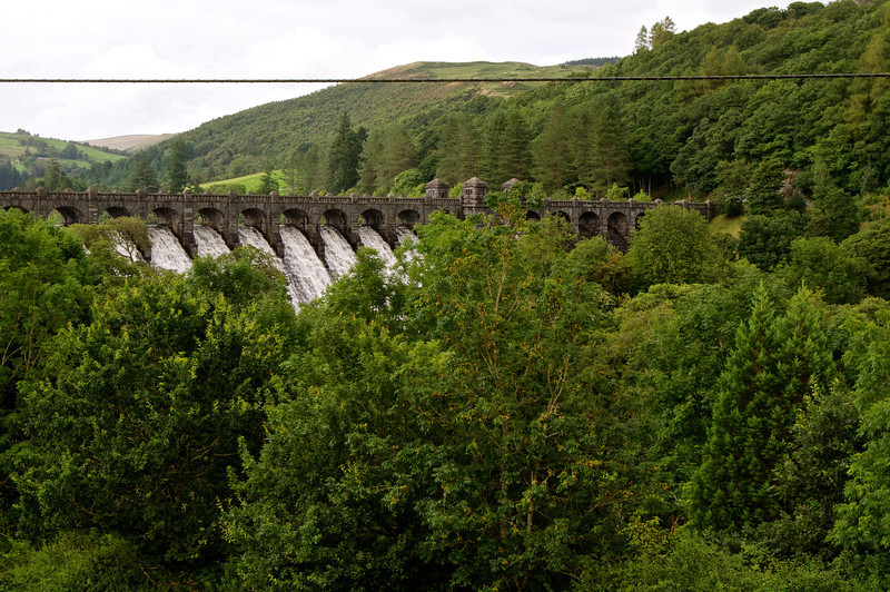The Dam at Lake Vyrnwy