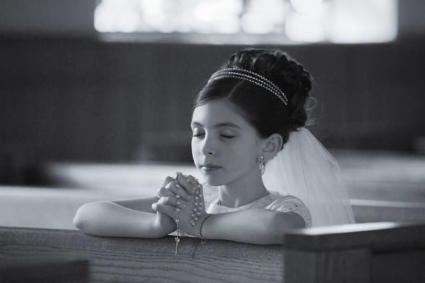 Emma's 1st Communion