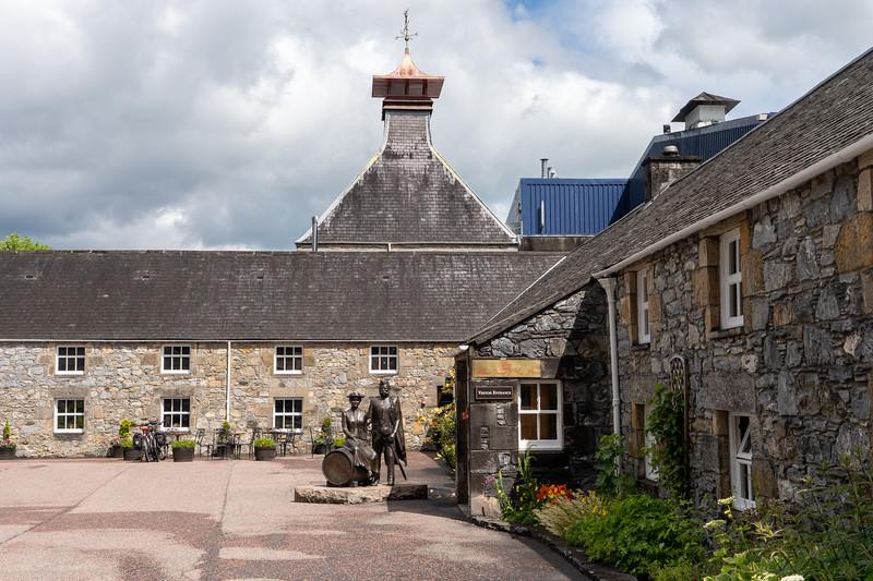Glenfiddich Distillery in Scotland