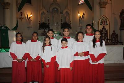 Altar Servers Mass 2015