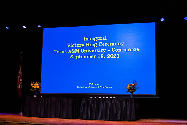 M22010 - Inaugural Victory Ring Ceremony