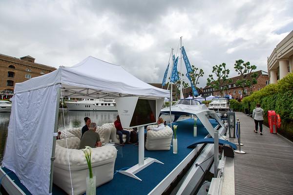 Wharf - Glider boat show