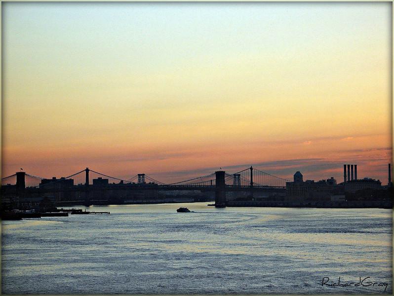 Sunrise Bridges, Manhattan