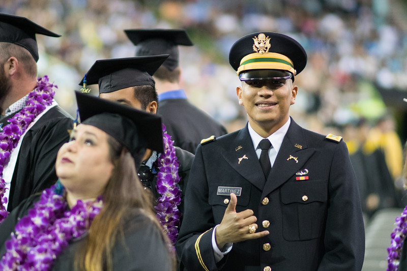 Alan Martinez. Over 1,100 graduates received their degrees during two commencement ceremonies held on May 13.