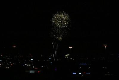 Fireworks Display - 7-3-2016