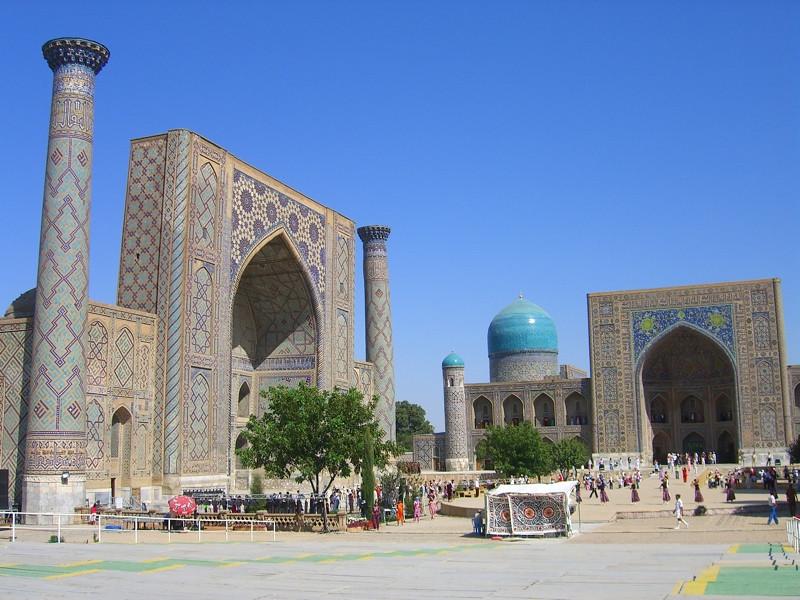Samarkand's Registan - Samarkand, Uzbekistan