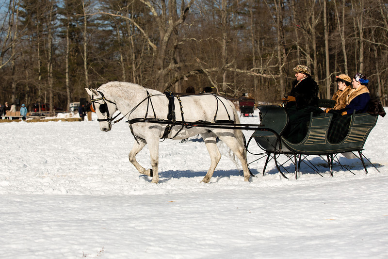 """Definitely, a """"Currier and Ives"""" scene..."""