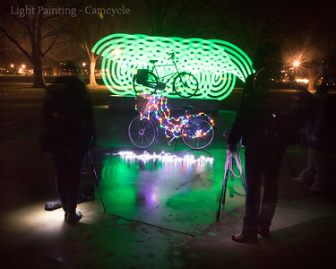 Camcycle Light Painting - 30.09.18