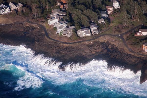 Over Oregon's Coastline