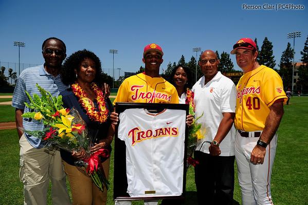 USC Baseball v UCLA 2013 - Senior Day