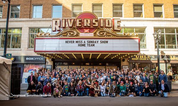 Widespread Panic - 10/27/19 - Riverside Theater - Milwaukee, WI