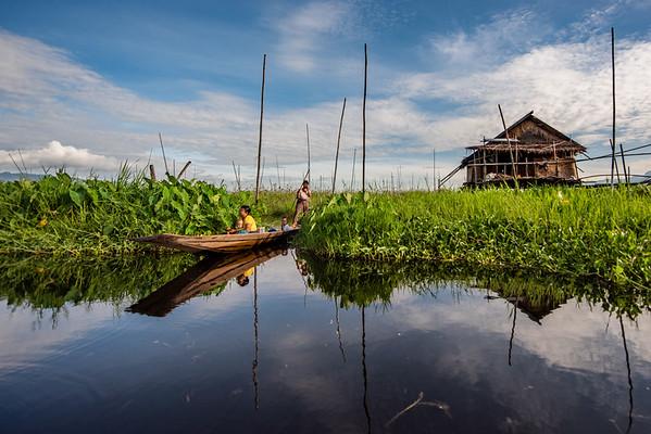Myanmar (formerly Burma): Inle Lake
