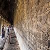 Admiring the Reliefs, Angkor Wat, Cambodia