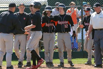 2009 Baseball Regionals - Napavine over Concrete/Rainier Christian