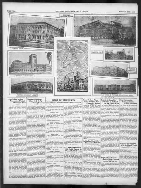 Daily Trojan, Vol. 19, No. 128, May 07, 1928
