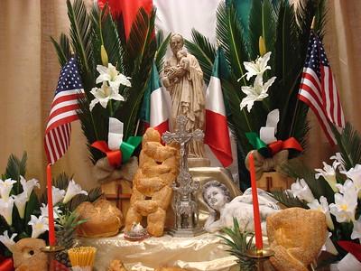 2013 Mar St Joseph Altar