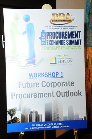 2014 Procurement Exchange Summit (October 16, 2014)