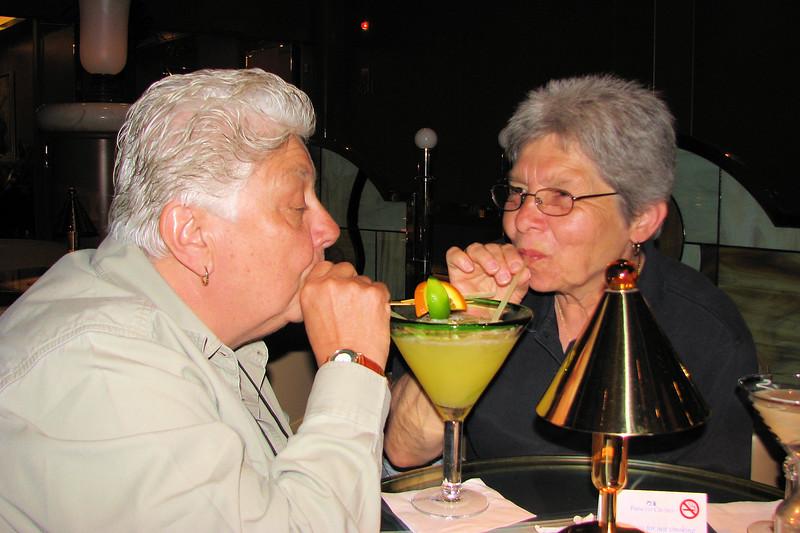 2008-04-06 | Caribbean Princess - 30th Anniv - Marie & Pat