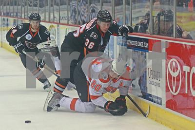 10/15/2011 - AHL - Adirondack Phantoms @ Syracuse Crunch - War Memorial at Oncenter, Syracuse, NY