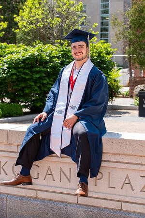 Isaac GW Graduation