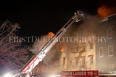 Brooklyn 5th Alarm Box: 0268 244 Montrose Ave. 14 Jan 21
