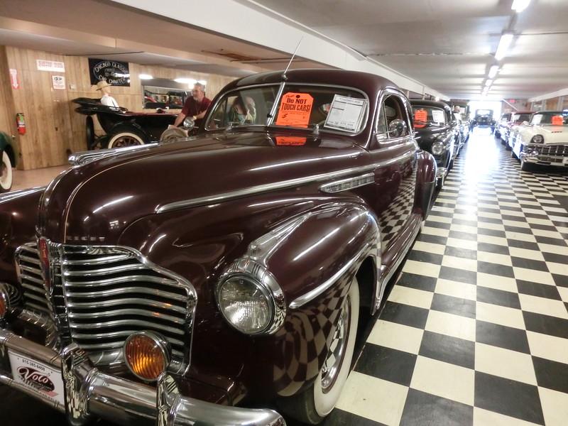 Gamla bilar till salu