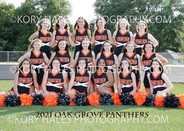 2013-2021 Oak Grove High School and Middle School Individual and Team Pictures