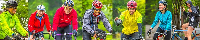 1-C)  Cyclist Close-Ups - Smiles - BRAG Spring Tune-Up