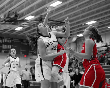 Mississinewa Girls Basketball vs Oak Hill  12-8-18